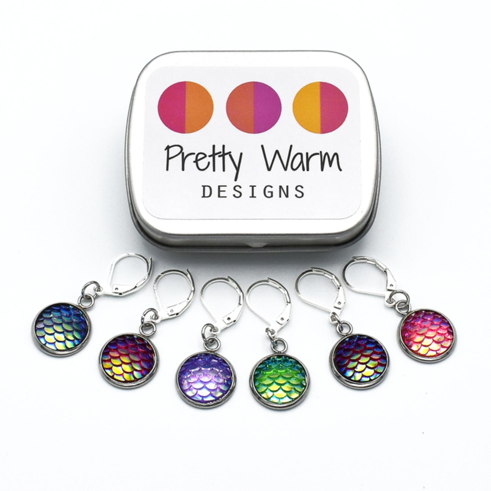 Pretty Warm Designs Stitch Markers by Pretty Warm Designs