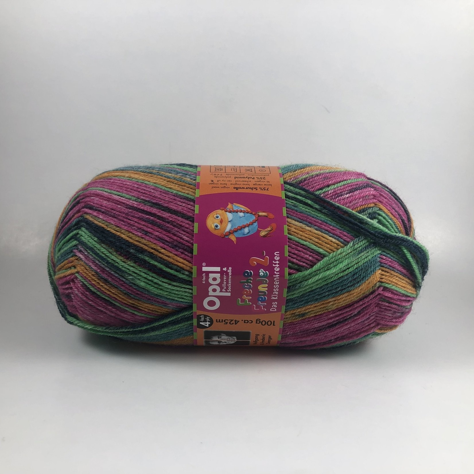 "Opal Yarn Freche Freunde 2 ""Cheeky Friends""  (4-Ply) by Opal"
