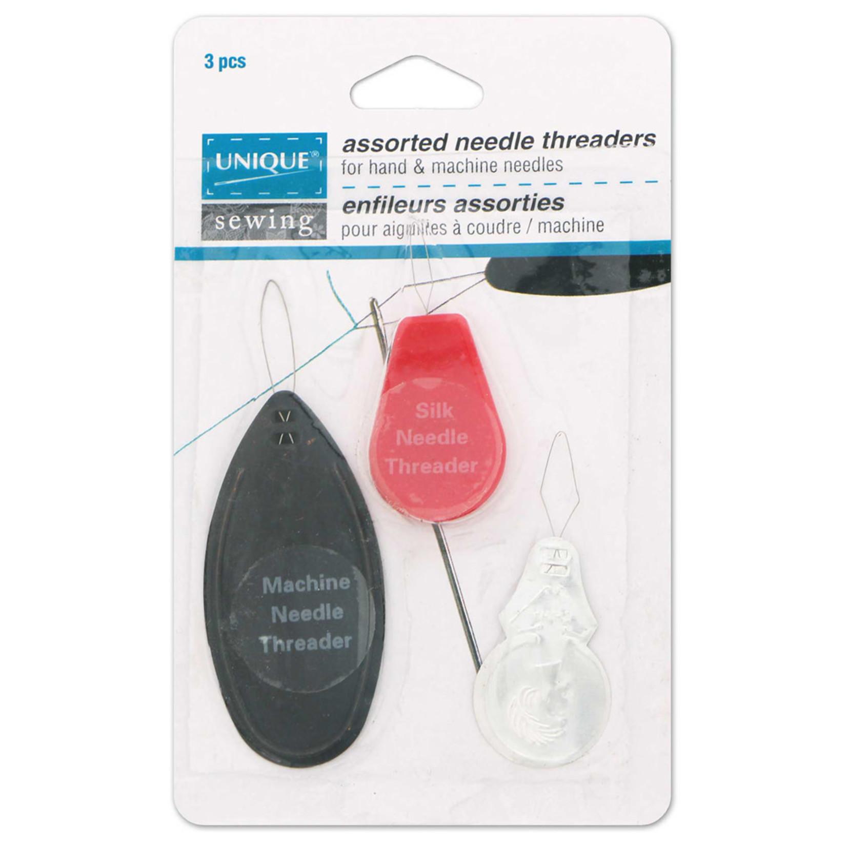 Unique Needle Threader Assortment - 3pcs by UNIQUE SEWING