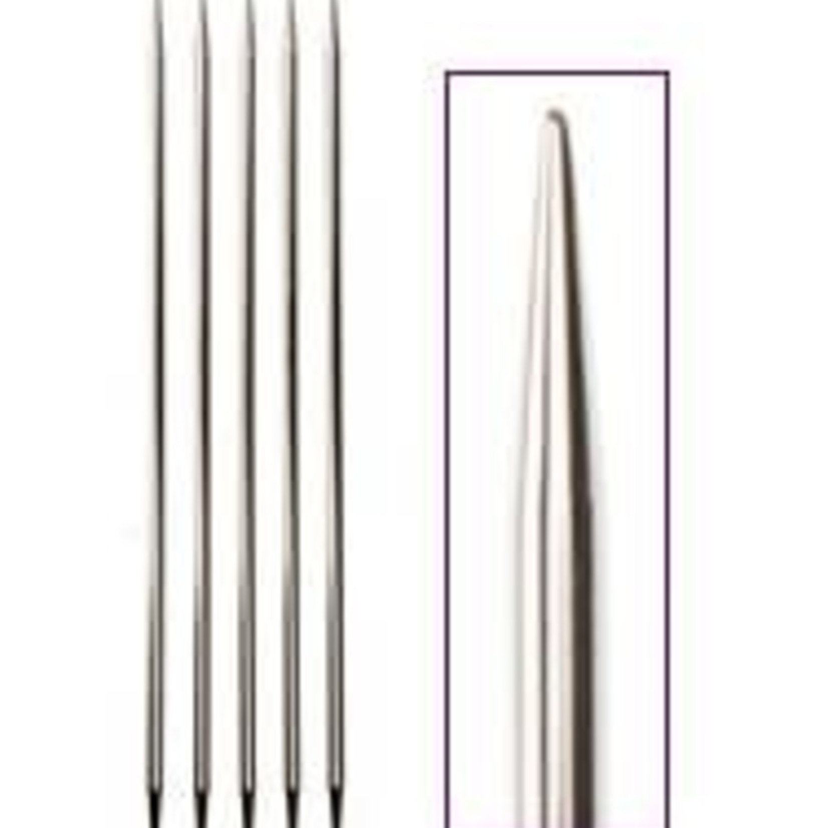 "Knit Picks KNIT PICKS Nickel Plated Double Point Knitting Needles 20cm (8"")"