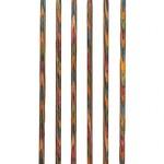 "Knit Picks KNIT PICKS Rainbow Wood Double Point Knitting Needles 20cm (8"")"