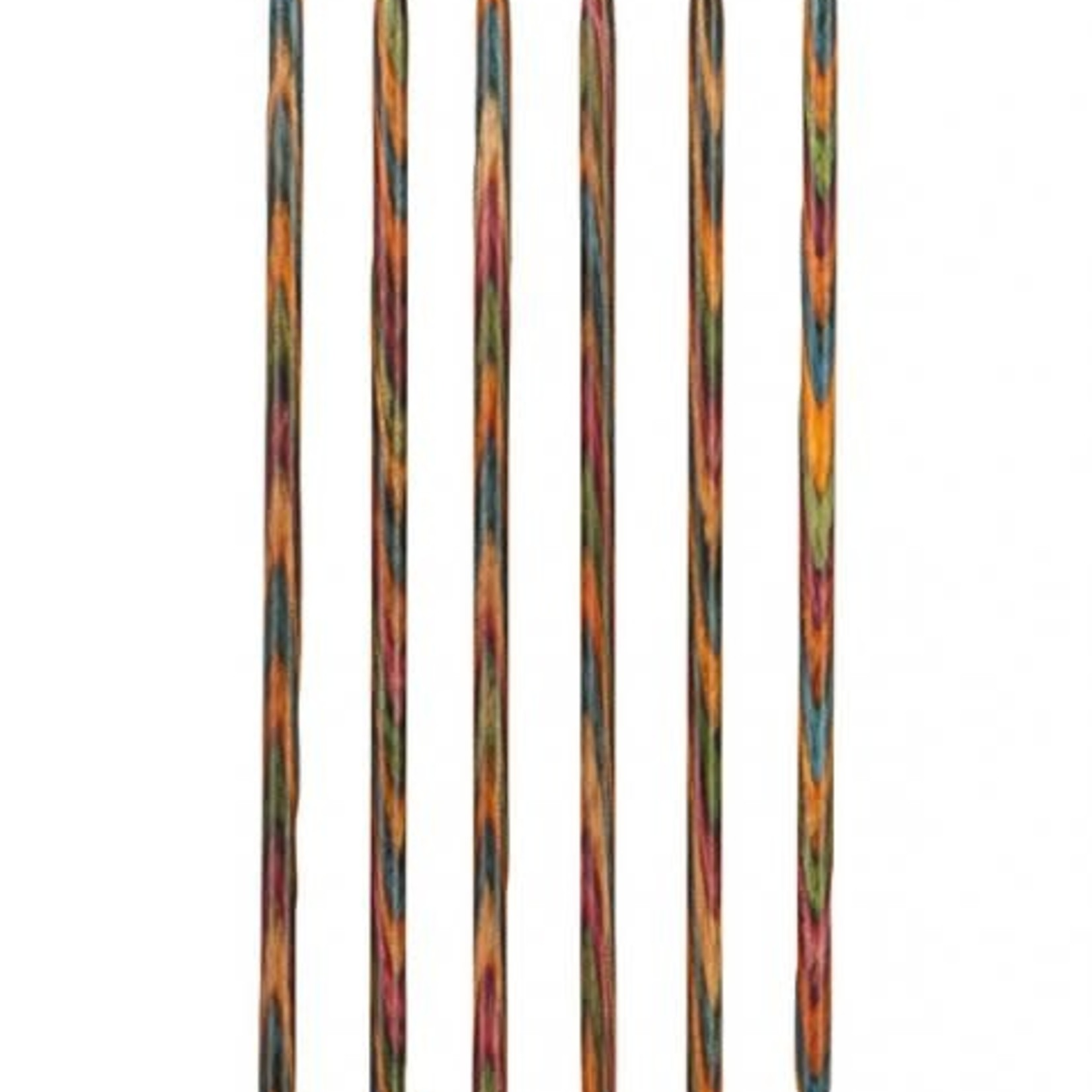 "Knit Picks KNIT PICKS Rainbow Wood Double Point Knitting Needles 20cm (8"")"