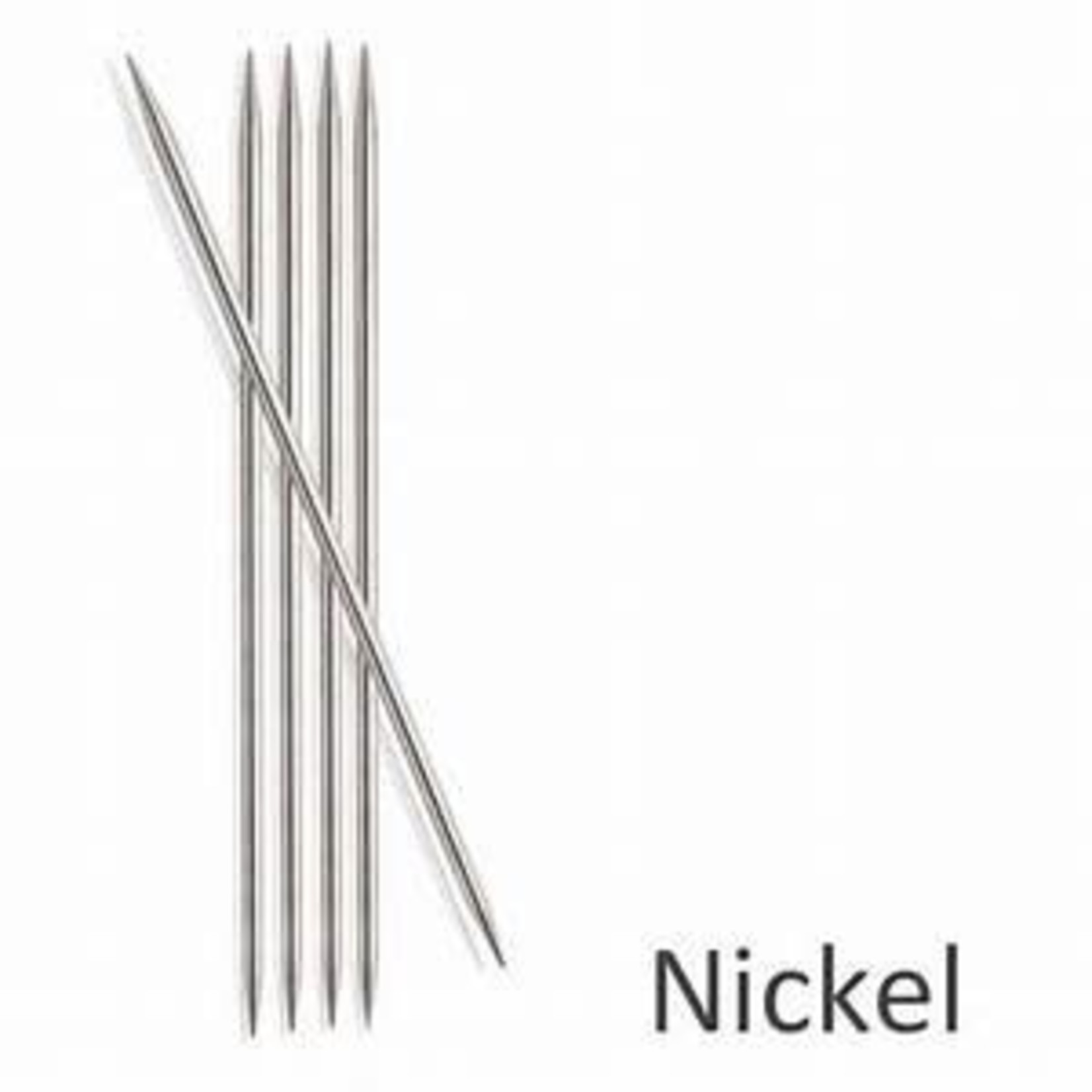 """Knit Picks KNIT PICKS Nickel Plated Double Point Knitting Needles 15cm (6"""")"""
