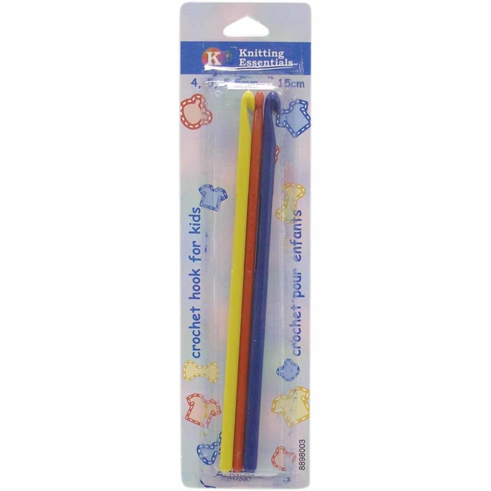 "Knitting Essentials Kids 15cm (6"") Crochet Hooks by KNITTING ESSENTIALS"