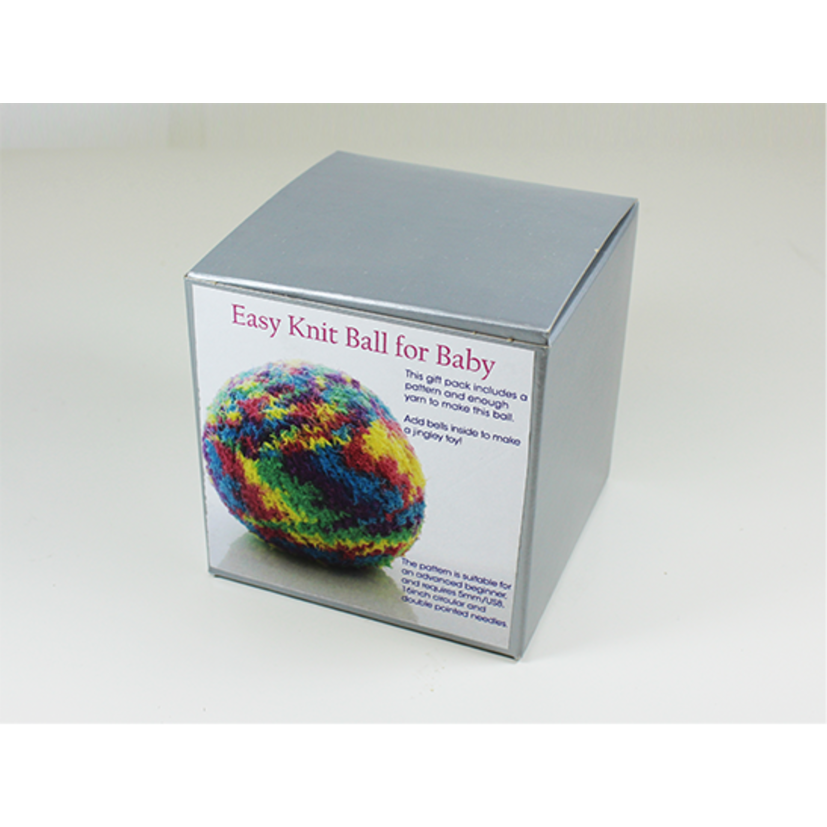 Easy Knit Ball for Baby