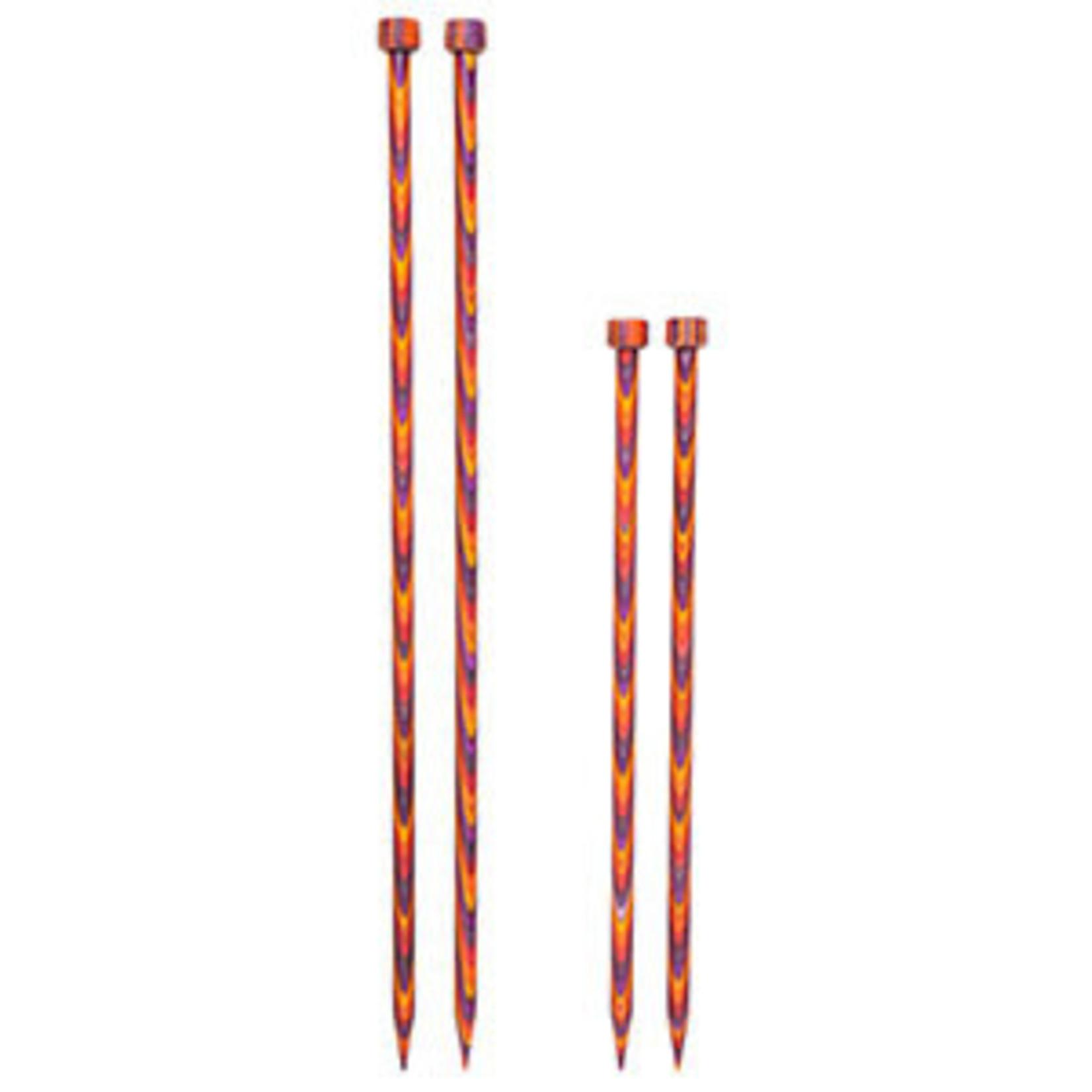 "Knit Picks KNIT PICKS Rainbow Wood Single Point Knitting Needles 35cm (14"")"