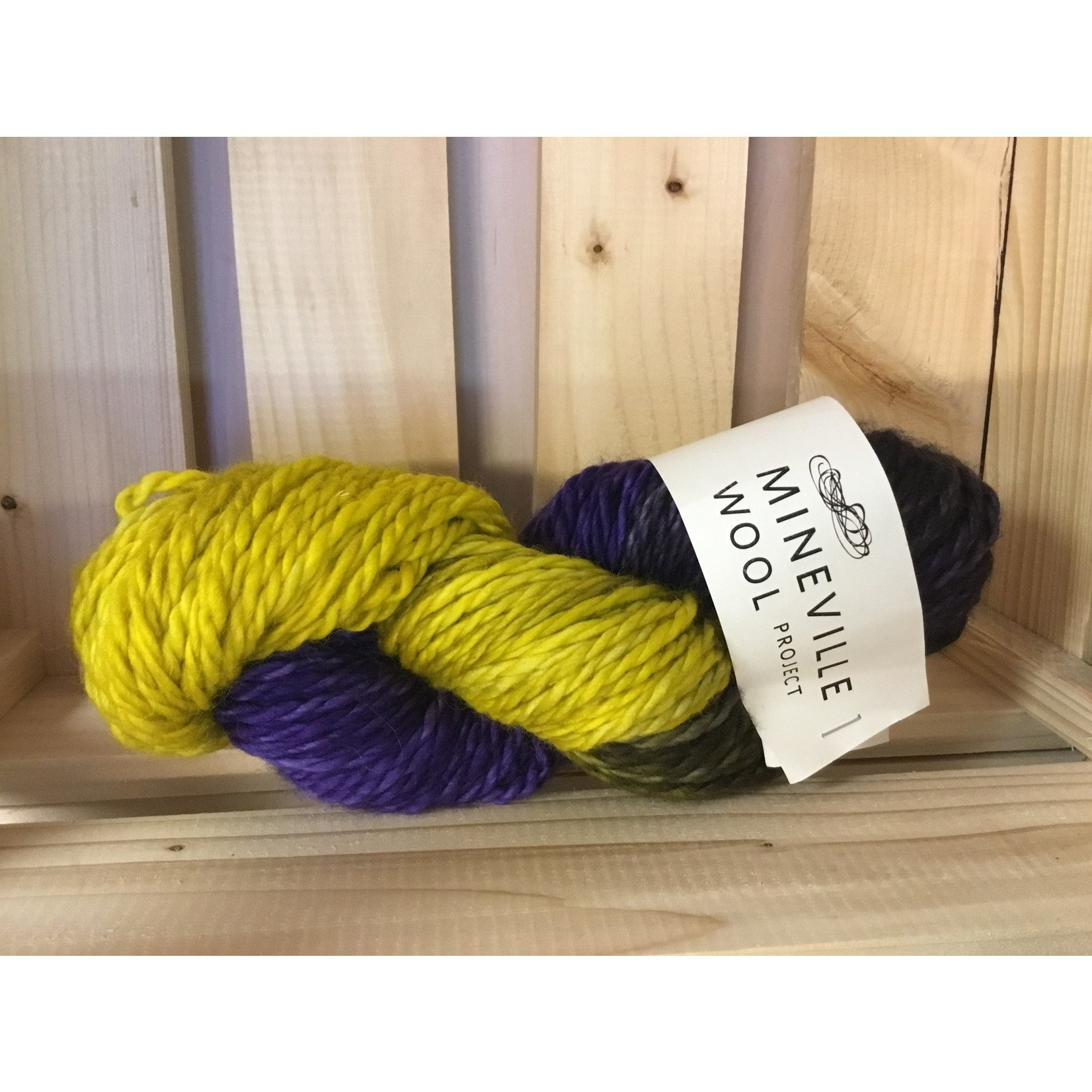 Mineville Merino 2-ply, Chunky by Mineville Wool Project