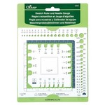Clover Swatch Ruler and Needle Gauge by Clover 3200