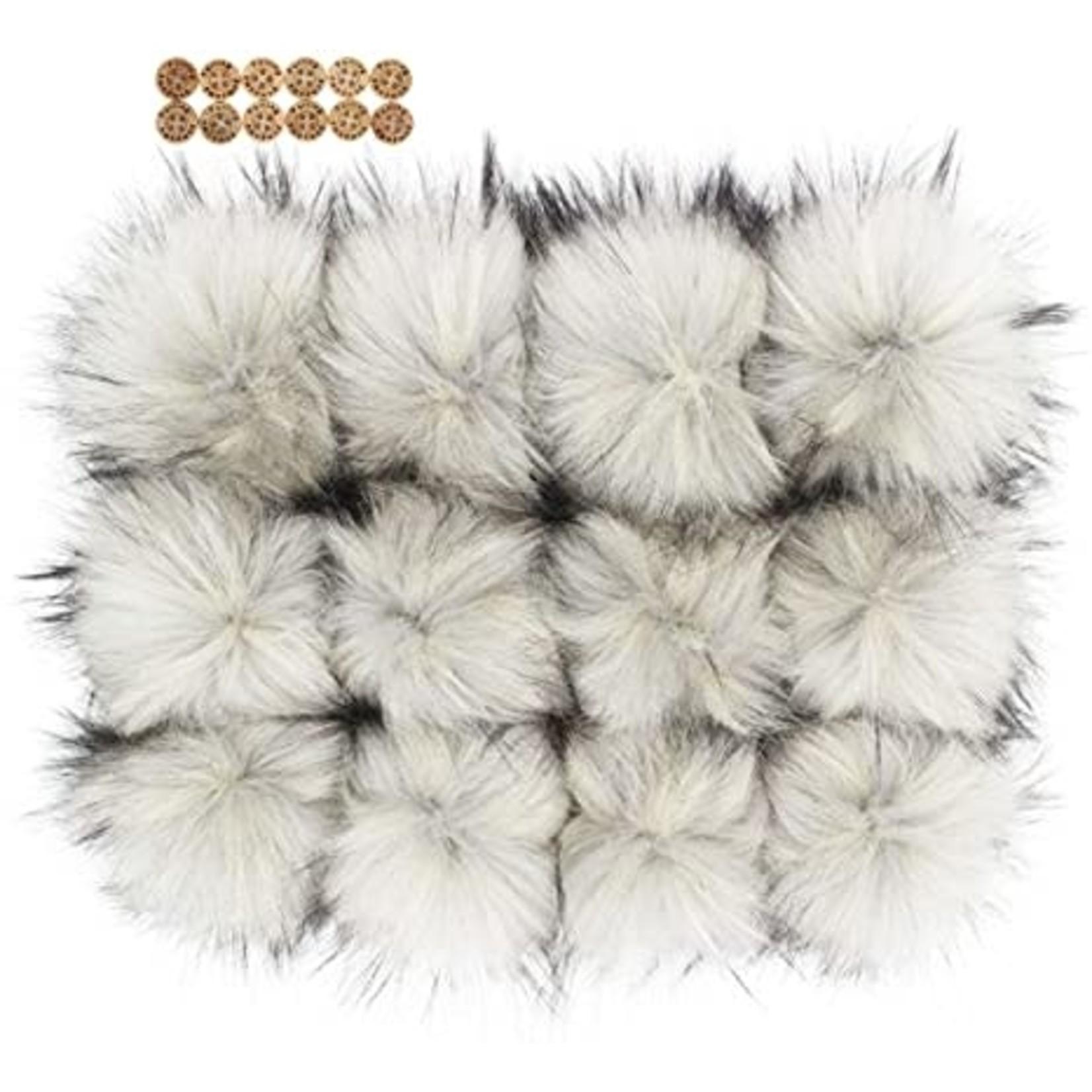 Wool Trends Fur Pom-Poms (Snap-On)