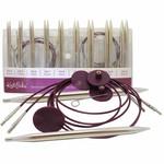 Knit Picks KNIT PICKS Nickel Plated Interchangeable Circular Needle Set