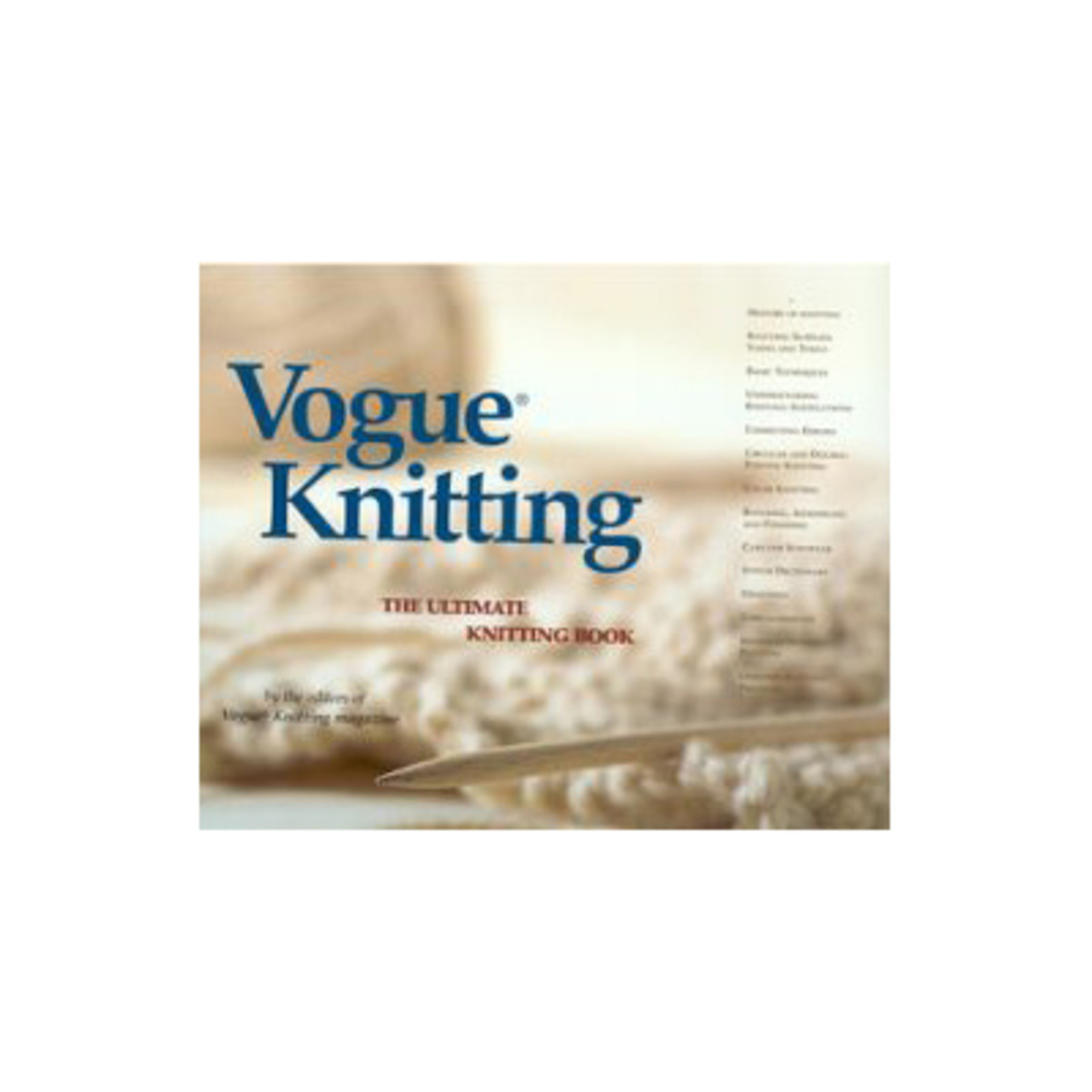 Vogue Knitting Vogue Knitting: The Ultimate Knitting Book  (2015)