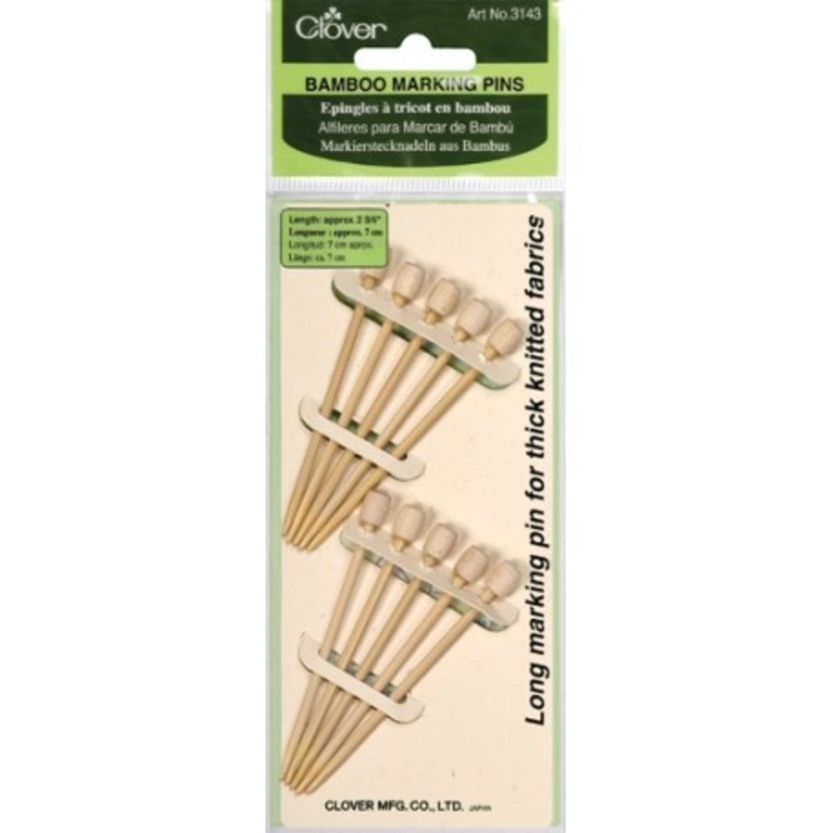 Clover CLOVER 3143 - Bamboo Marking Pins