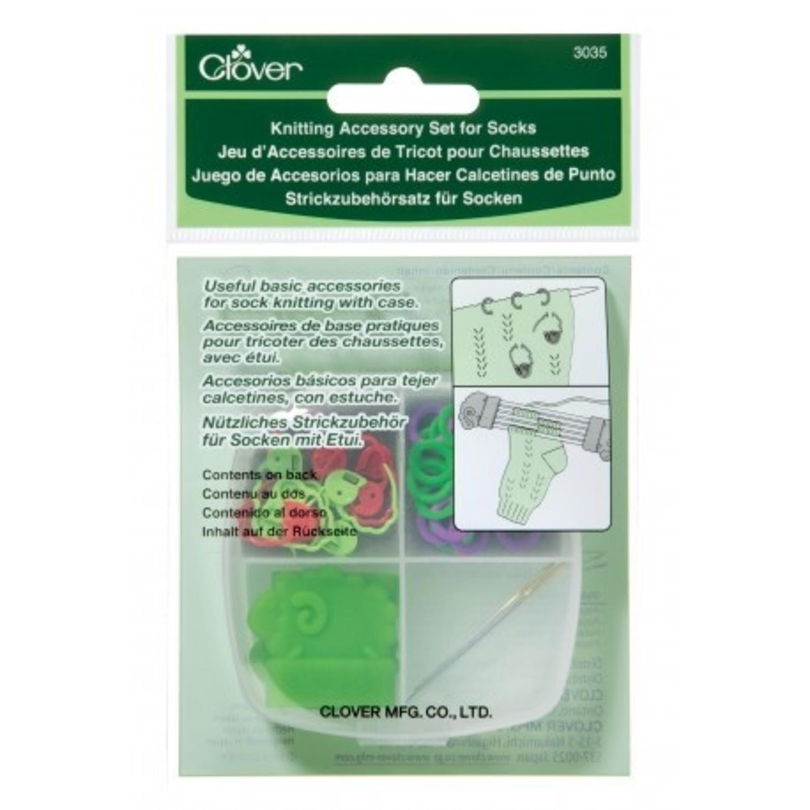 Clover Clover Knitting Accessory Kit for Socks 3035