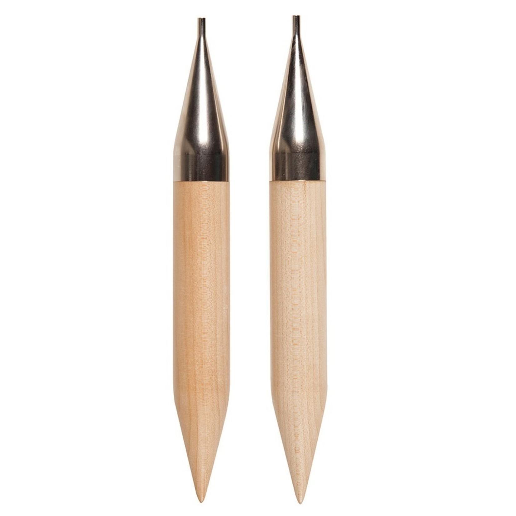 Knit Picks KNIT PICKS Birch Wood Interchangeable Circular Needle Tips