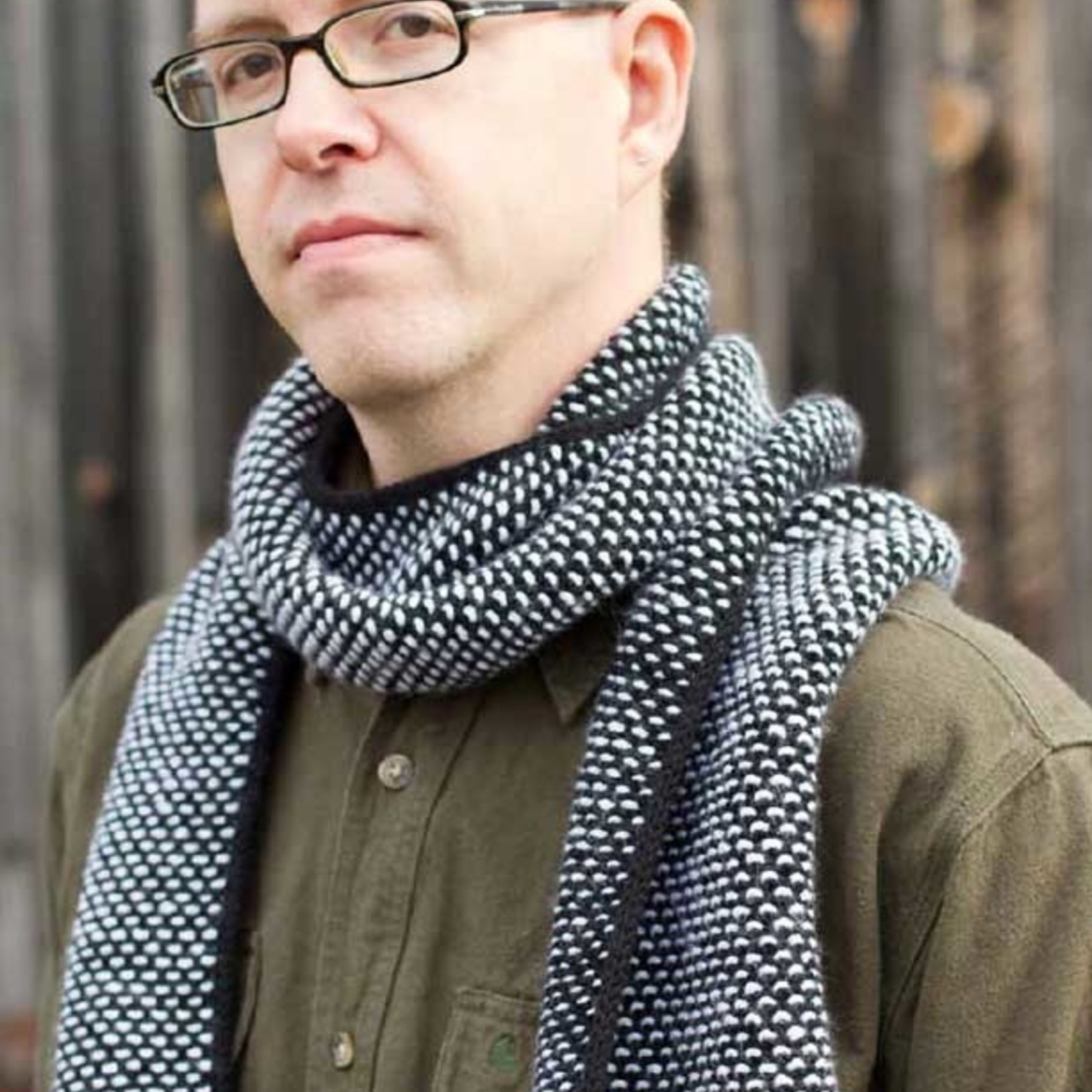 AudKnits Reversible Scarves: Curing the Wrong Side Blues by Audrey Knight