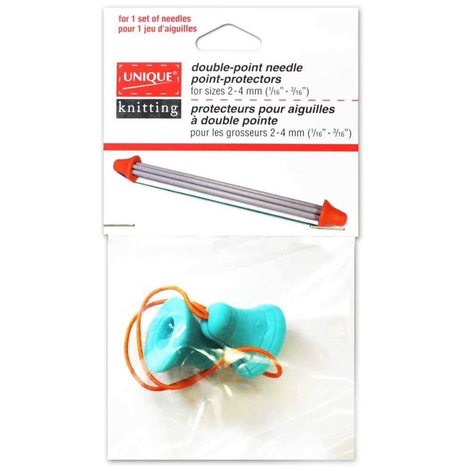 Unique Double-Point Needle Point Protectors