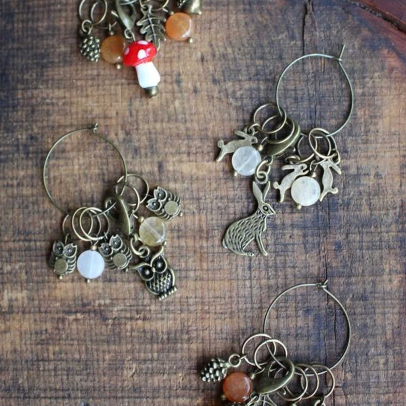 Wool & Wire Woodland Creatures Stitch Markers by Wool & Wire