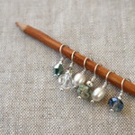 Wool & Wire Mini Stitch Marker Set  by NNK Press