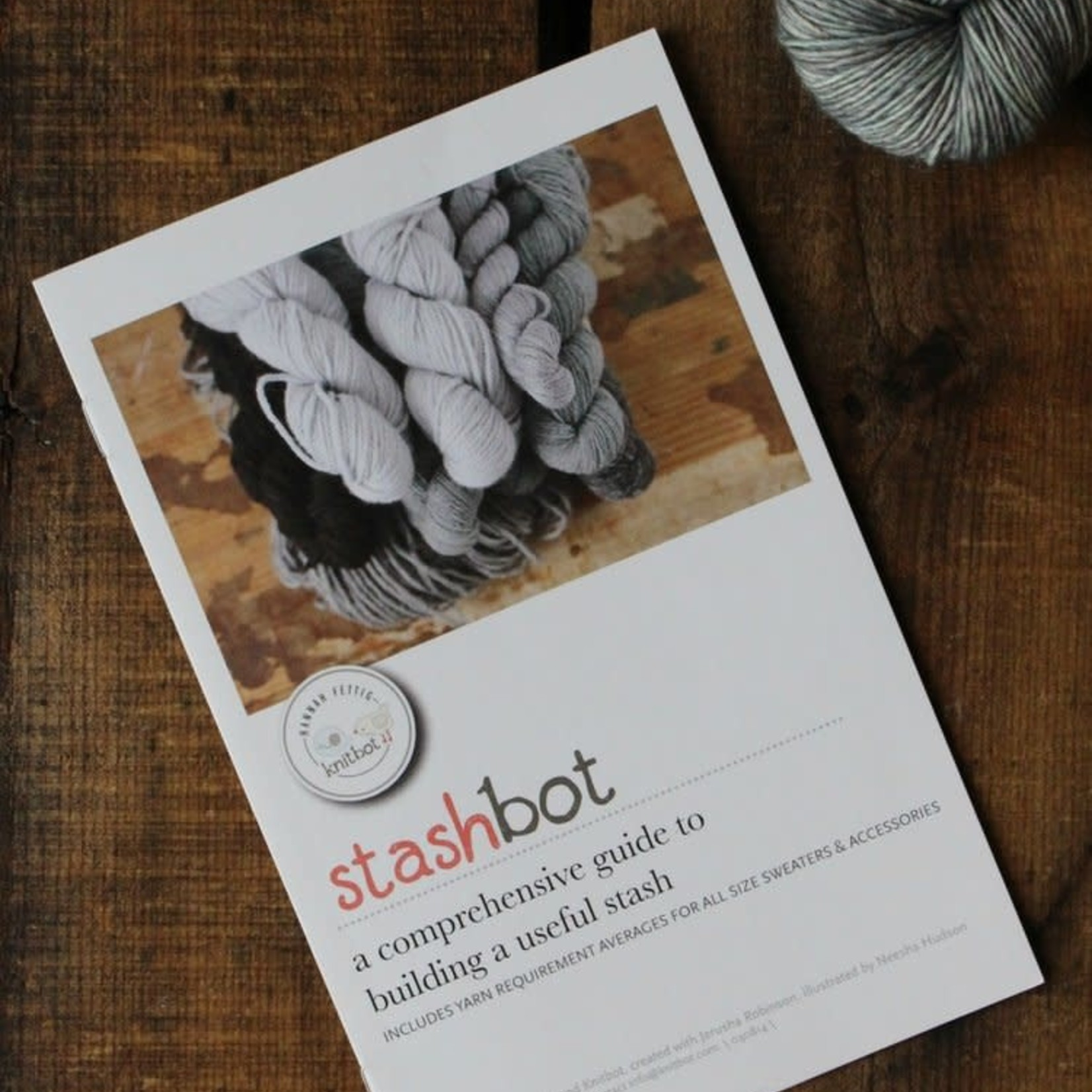 Knitbot Stashbot with Stand - NNK Press