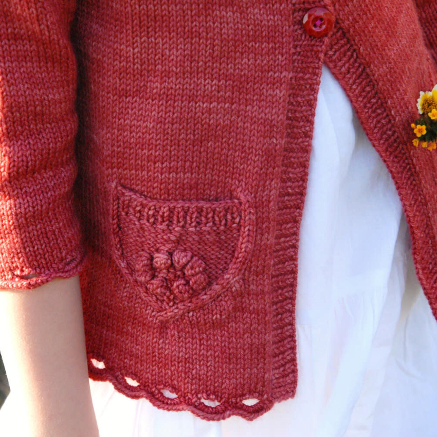 Never Not Knitting Wee Wildflower (Printed Pattern) by Alana Dakos