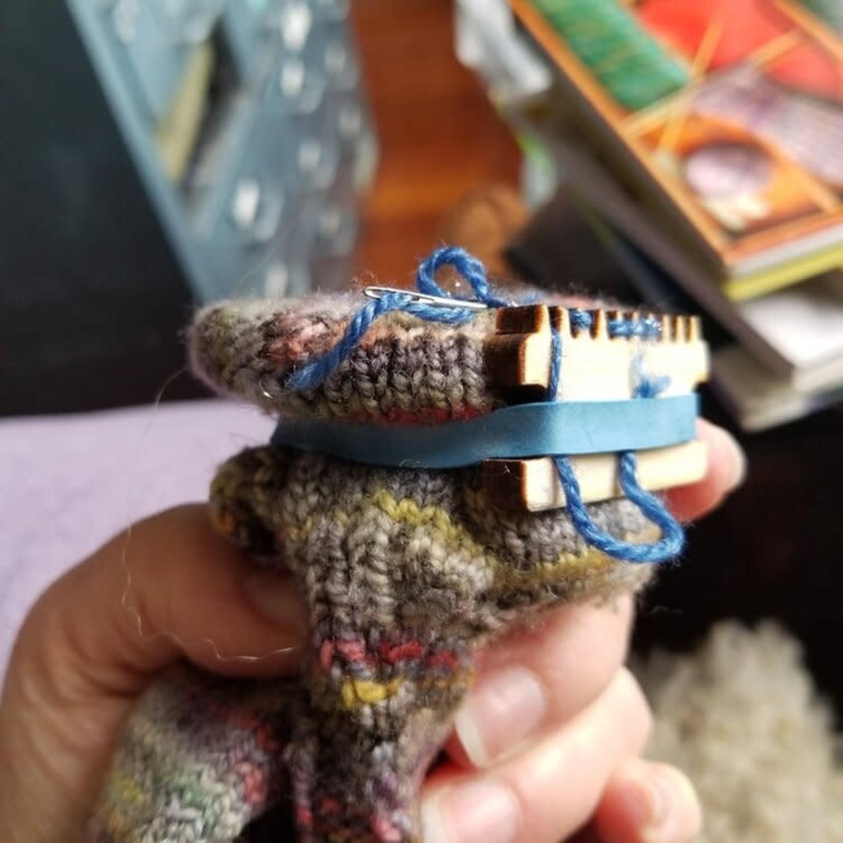 Katrinkles Darning & Mending Loom Kit (SMALLER) by Katrinkles