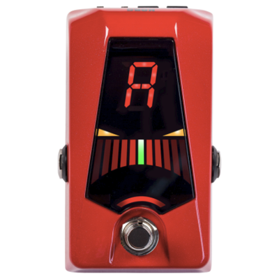 Korg Korg Pitchblack Advance Pedal Tuner Red