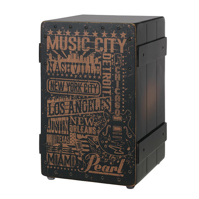 Pearl Pearl PBC-122B  Music Town USA Primero Cajon