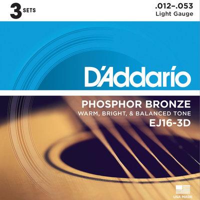 D'Addario D'Addario EJ16-3D