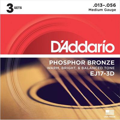 D'Addario D'Addario EJ17-3D
