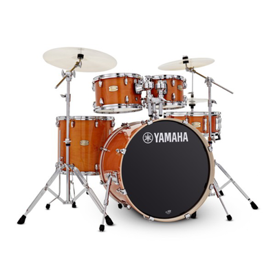 Yamaha Yamaha Stage Custom Birch Drum Kit w/ Hardware - Honey Amber