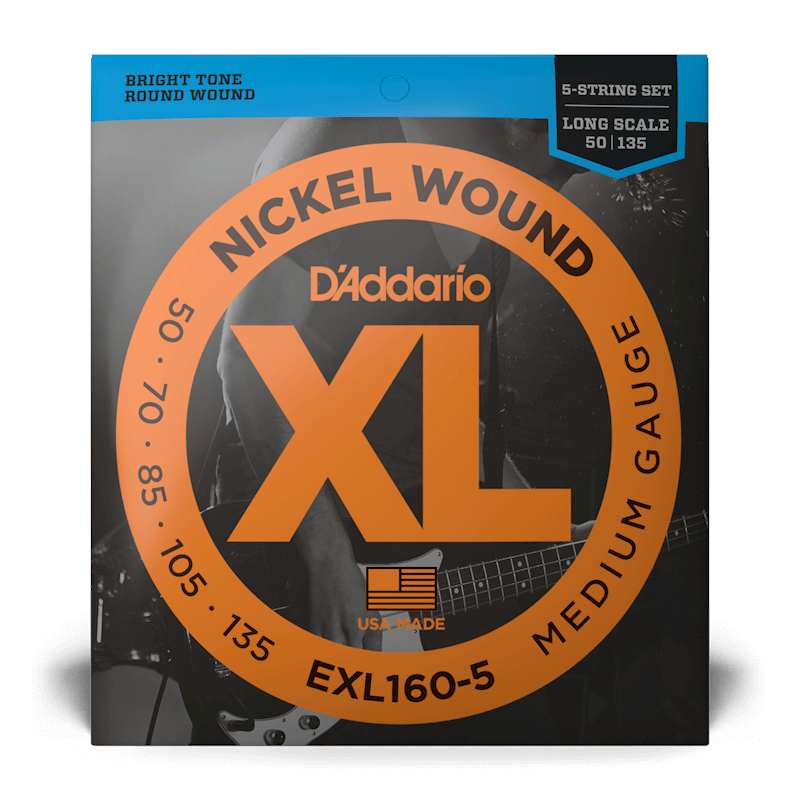 D'Addario D'Addario EXL160-5 5-String