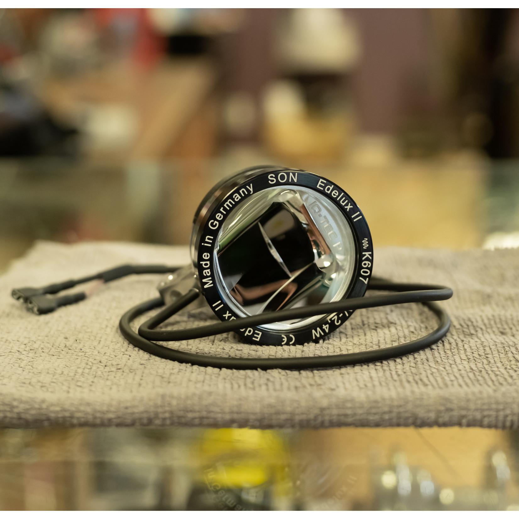 Schmidt SON Edelux II Silver Dynamo Headlight (60cm wire)