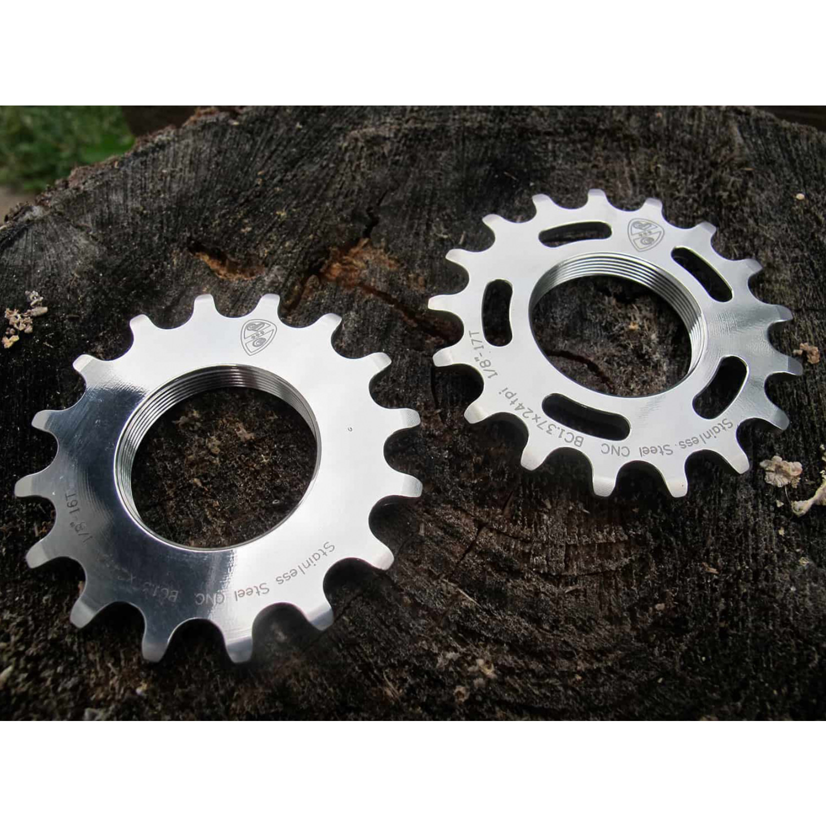 """All-City All City Stainless Steel Track Cog 1/8"""""""