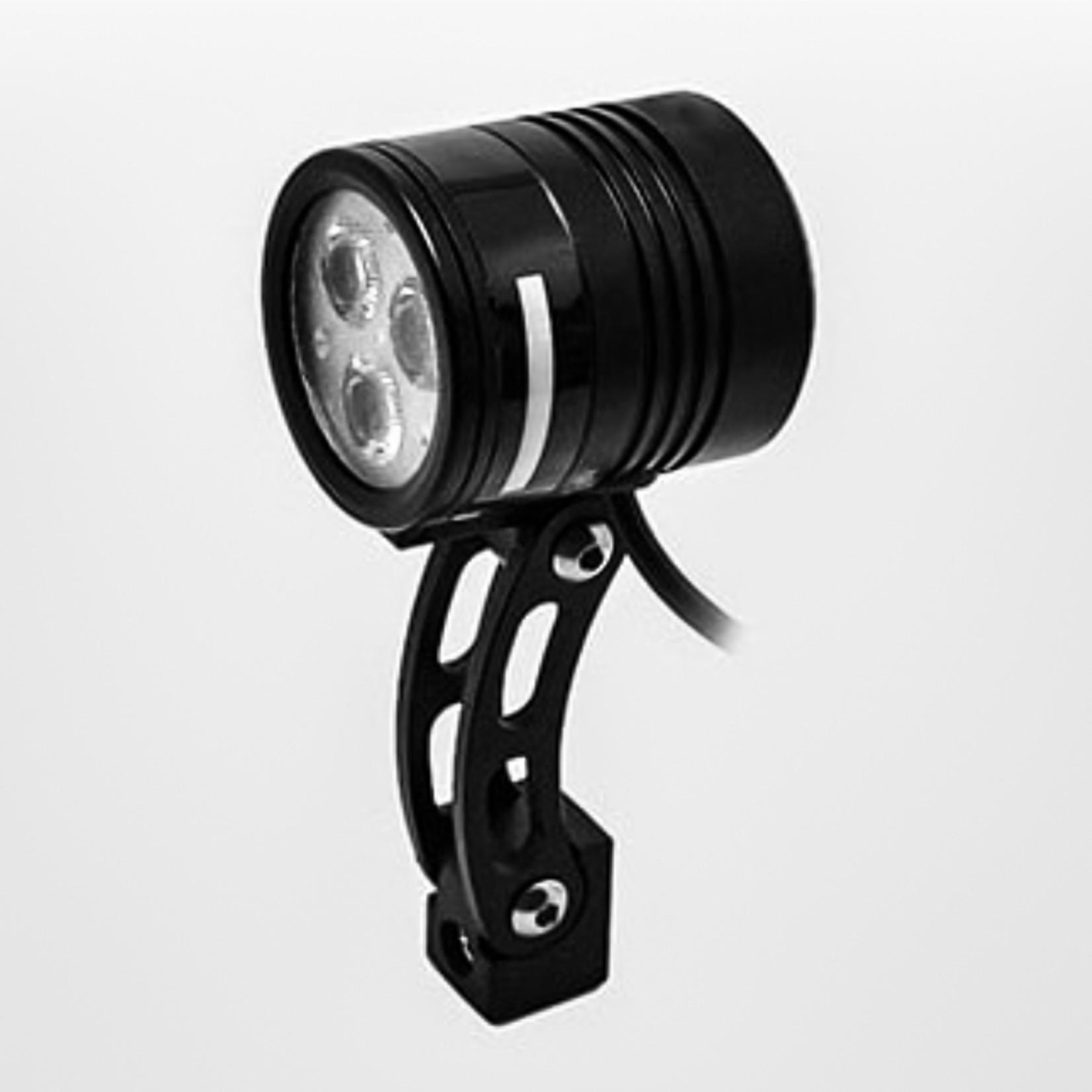 Kasai Trail Beam Dynamo Headlight, Black