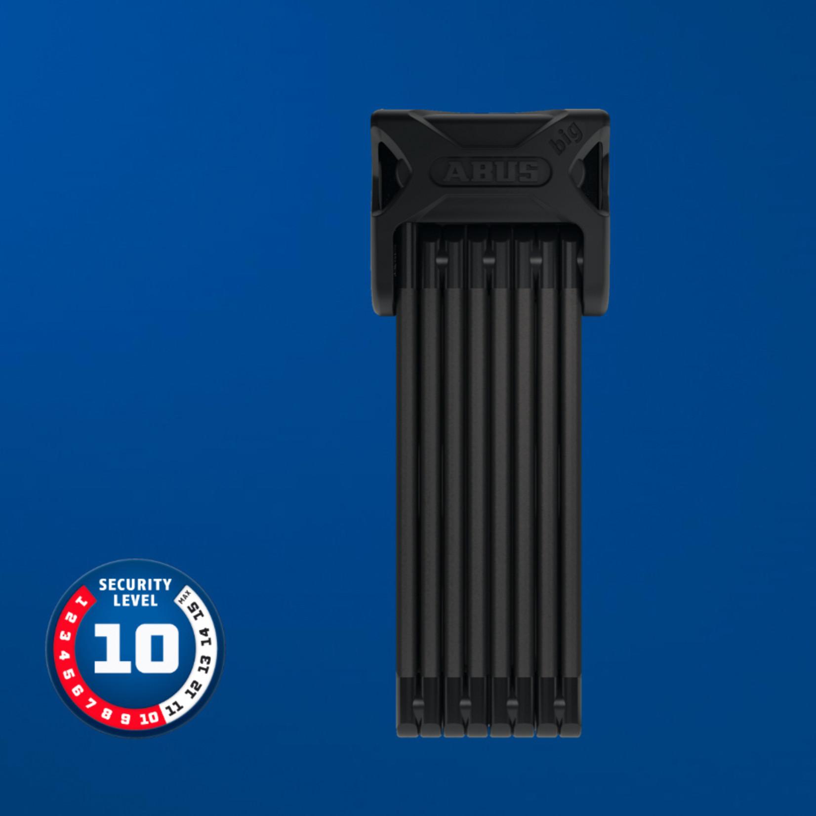 Abus Bordo Big 6000 Folding Lock w/ Key, 120 cm, Black