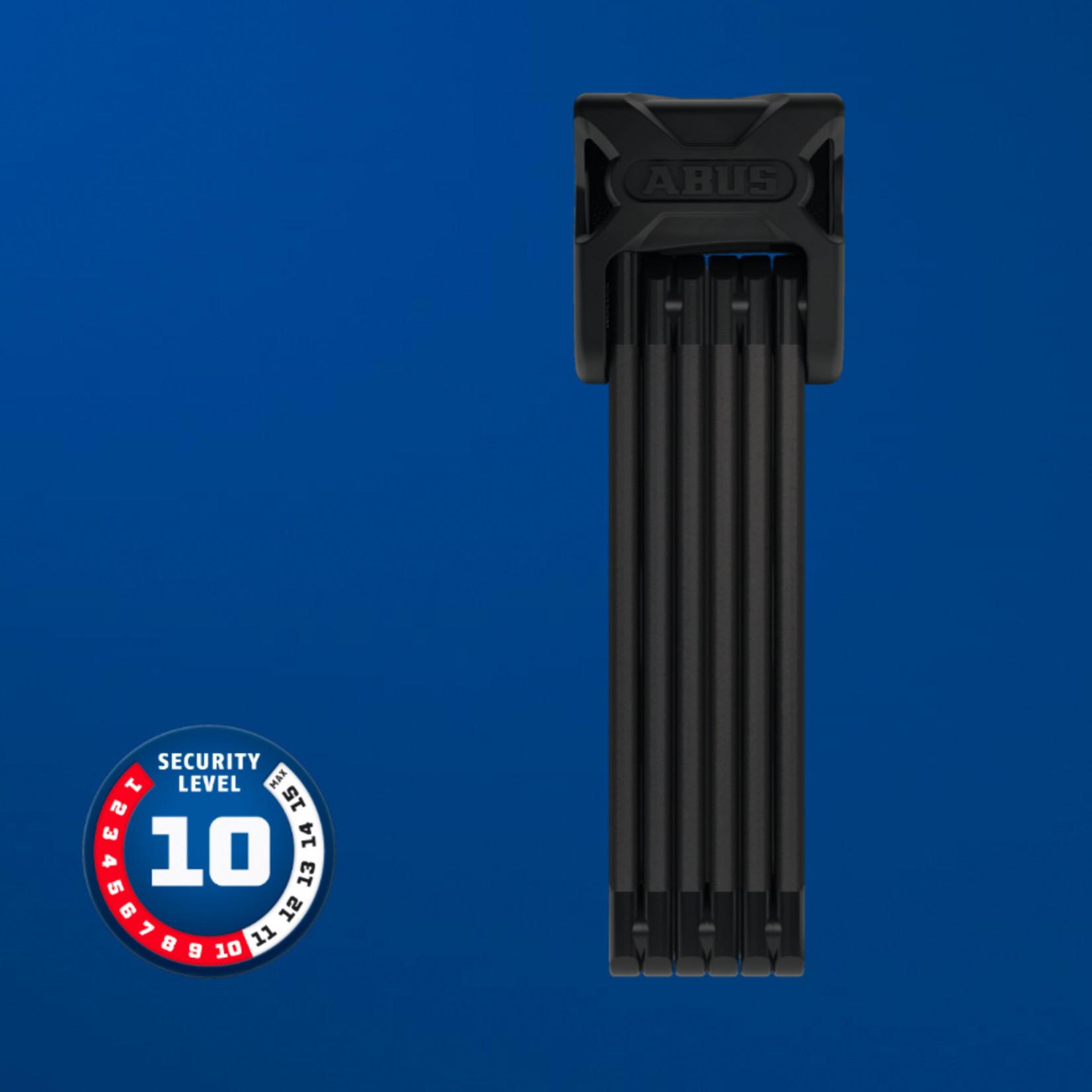 Abus Bordo 6000 Folding Lock w/ Key, 90cm, Black