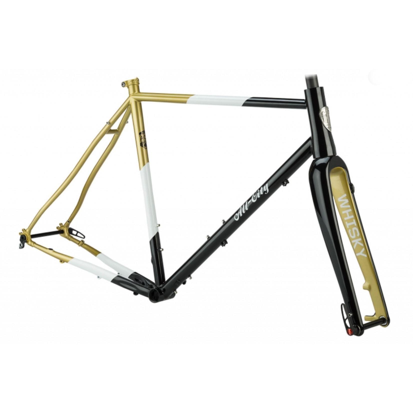 All-City All-City Cosmic Stallion Frameset 49cm Black/White/Gold