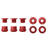 Wolf Tooth Components Wolf Tooth Anodized 1x Chainring Bolts - Set of 5
