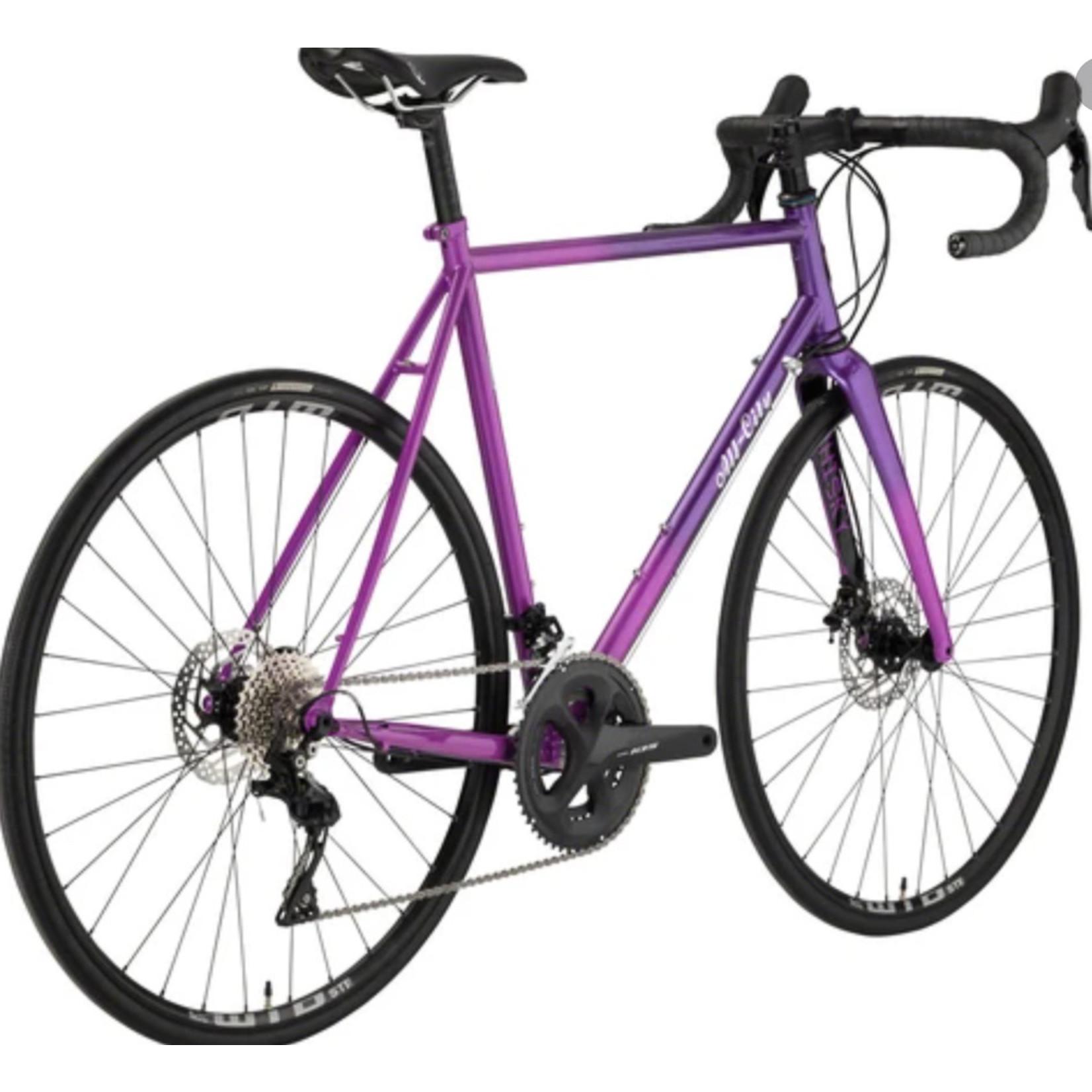 All-City All-City Zig Zag Purple Fade - Complete