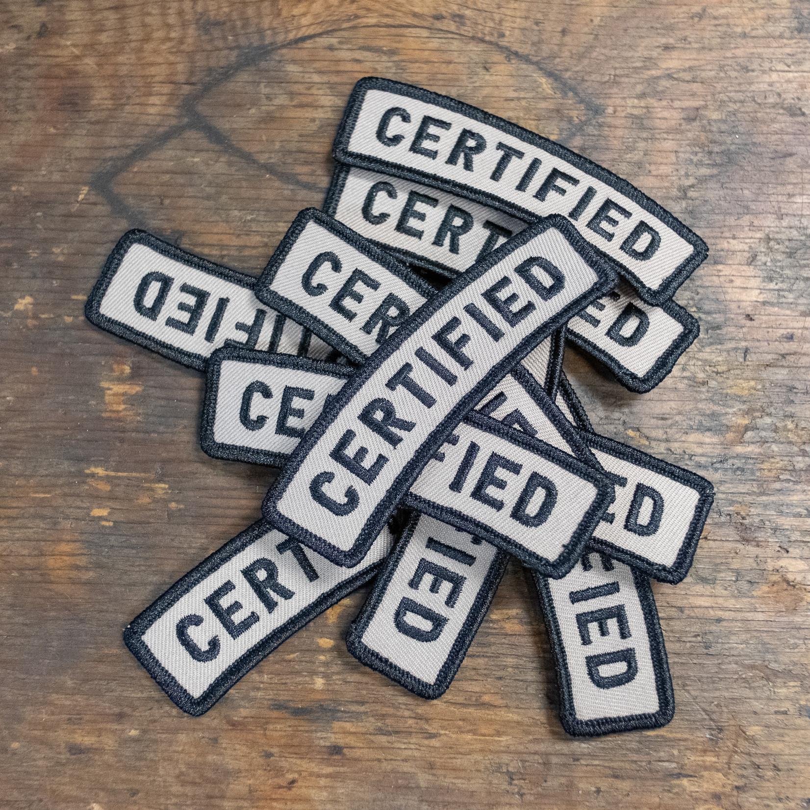 Ultradynamico Ultradynamico 'Certified' Patch