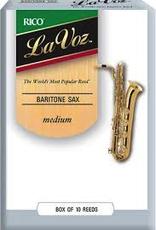 D'Addario La Voz Baritone Saxophone Reeds