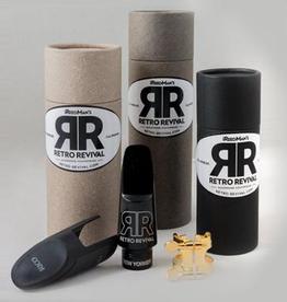 Retro Revival Retro Revival 'New Yorker' Alto Saxophone Mouthpiece Medium chamber
