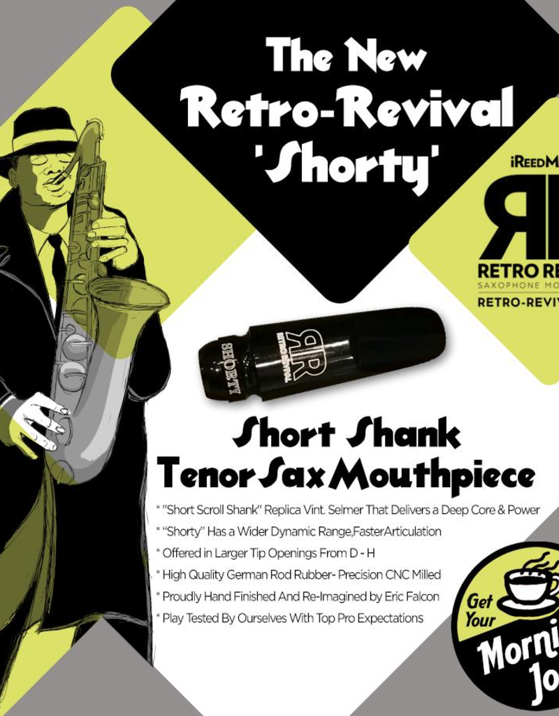 Retro Revival Retro Revival Shorty Tenor Saxophone Mouthpiece