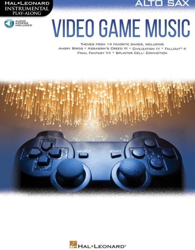 Hal Leonard Video Game Music For Solo Instrument