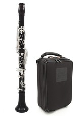 Backun Backun MOBA A Clarinet Grenadilla w/ Silver Keys & Posts