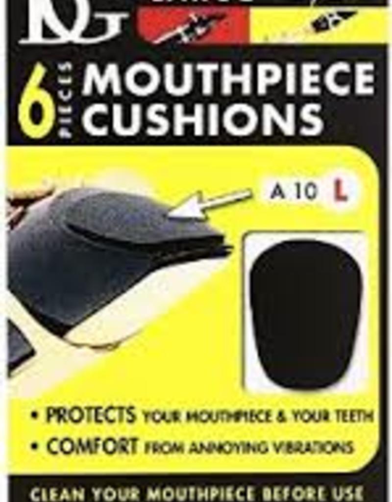 BG BG Teeth And Mouthpiece Saver Patch 6pk, Black .8mm, large A10L