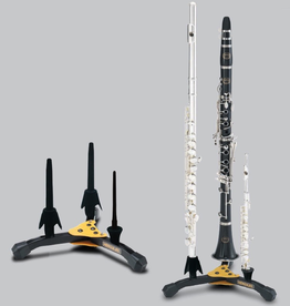 Hercules Hercules Double Clarinet/Flute Stand with Piccolo - DS543B
