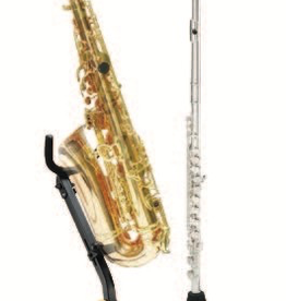Hercules Hercules Alto or Tenor Saxophone Stand with Clar/Flute Peg - DS532B