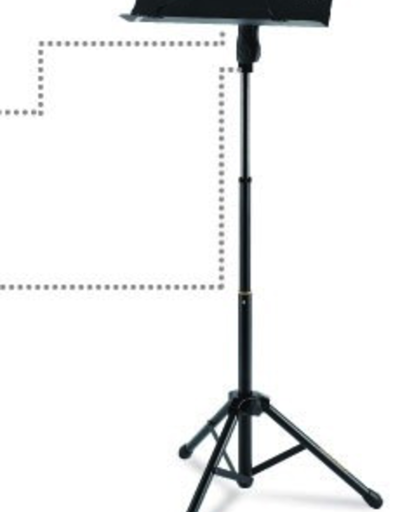 Hercules Hercules Music Stand with Folding Desk - BS418B