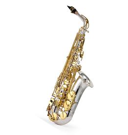 Jupiter Jupiter JAS1167 Silver Professional Alto Saxophone